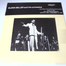 Discos de vinilo: LP. GLENN MILLER AND HIS ORCHESTRA. 1938 - 1939. SOUNDCRAFT. Lote 159943346