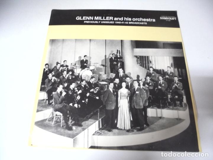 LP. GLENN MILLER AND HIS ORCHESTRA. 1940 - 41 - 42. SOUNDCRAFT (Música - Discos - LP Vinilo - Jazz, Jazz-Rock, Blues y R&B)