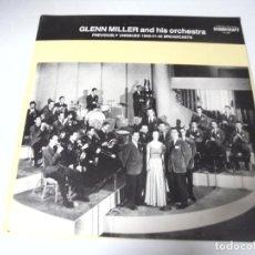 Discos de vinilo: LP. GLENN MILLER AND HIS ORCHESTRA. 1940 - 41 - 42. SOUNDCRAFT. Lote 159943454