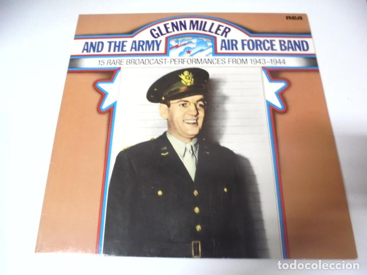 LP. GLENN MILLER AND THE ARMY. AIR FORCE BAND. 15 RARE BROADCAST-PERFORMANCES FROM 1943 - 1944. RCA (Música - Discos - LP Vinilo - Jazz, Jazz-Rock, Blues y R&B)