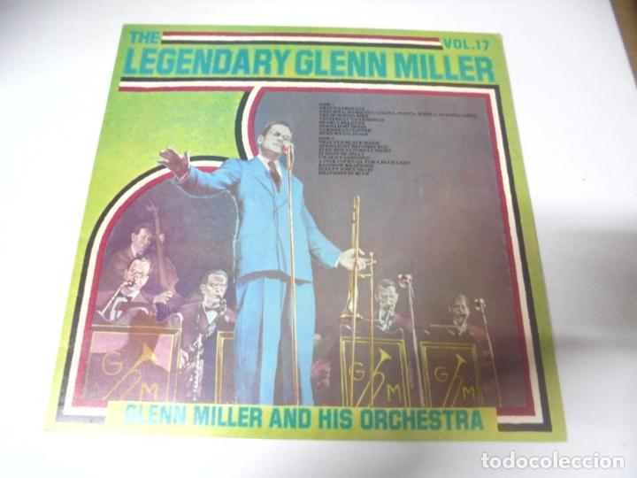 LP. THE LEGENDARY GLENN MILLER. VOL.17. RCA 1977 (Música - Discos - LP Vinilo - Jazz, Jazz-Rock, Blues y R&B)