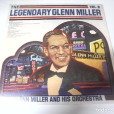 Discos de vinilo: LP. THE LEGENDARY GLENN MILLER. VOL.9. RCA 1977. Lote 159946130