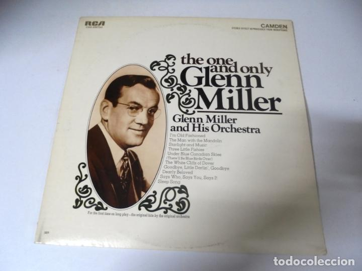 LP. THE ONE AND ONLY GLENN MILLER. RCA RECORDS 1968 (Música - Discos - LP Vinilo - Jazz, Jazz-Rock, Blues y R&B)