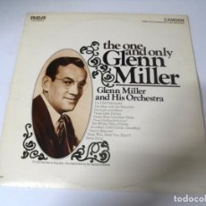 Discos de vinilo: LP. THE ONE AND ONLY GLENN MILLER. RCA RECORDS 1968. Lote 159948622