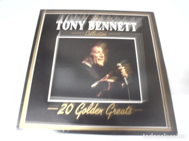 LP. THE TONY BENNETT COLLECTION. 20 GOLDEN GREATS. 1985. DEJA VU (Música - Discos - LP Vinilo - Jazz, Jazz-Rock, Blues y R&B)