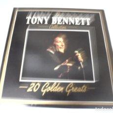 Discos de vinilo: LP. THE TONY BENNETT COLLECTION. 20 GOLDEN GREATS. 1985. DEJA VU. Lote 159954370