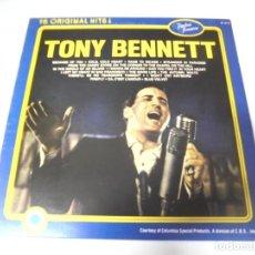 Discos de vinilo: LP. TONY BENNETT. 16 ORIGINAL HITS!. 1984. TIMELESS TREASURES. Lote 159954814