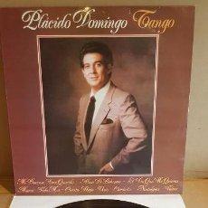 Discos de vinilo: PLÁCIDO DOMINGO / TANGO / LP - POLYDOR-1981 / CALIDAD LUJO. ****/****. Lote 159960994