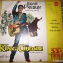 Discos de vinilo: ELVIS PRESLEY - KING CREOLE EP - ORIGINAL ESPAÑOL - RCA 1961 - MICROSURCO 33 1/3 COMPACTO -. Lote 159961470