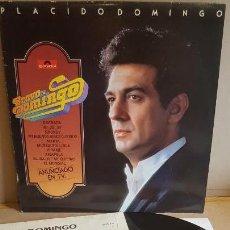 Discos de vinilo: PLÁCIDO DOMINGO / BRAVO DOMINGO / LP - POLYDOR-1981 / CALIDAD LUJO. ****/****. Lote 159962222