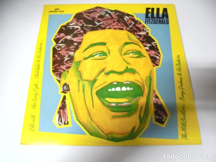 Discos de vinilo: LP. ELLA FITZGERALD. ELLA WITH...HER SAVOY EIGHT. 1987 - Foto 1 - 159964354