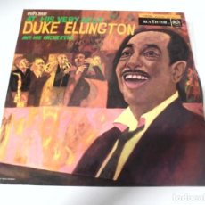 Discos de vinilo: LP. AT HIS VERY BEST DUKE ELLIGTON AND HIS ORCHESTRA. RCA. Lote 159965226