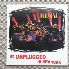 Discos de vinilo: NIRVANA-MTV UNPLUGGED LP. Lote 173003762