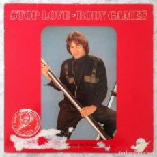 Discos de vinilo: MAXI-SINGLE - BODY GAMES - STOP LOVE - TRASH - 1983 (ITALO-DISCO). Lote 159982206