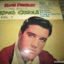Discos de vinilo: ELVIS PRESLEY - KING CREOLE VOL. 1 EP - ORIGINAL INGLES - RCA RECORDS 1958 - MONOAURAL -. Lote 159982578