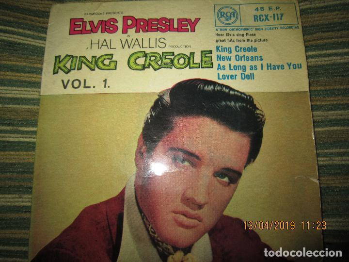 Discos de vinilo: ELVIS PRESLEY - KING CREOLE VOL. 1 EP - ORIGINAL INGLES - RCA RECORDS 1958 - MONOAURAL - - Foto 5 - 159982578