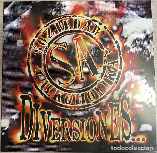 LP SOZIEDAD ALKOHOLIKA DIVERSIONES VINILO RECORD STORE DAY RSD 2019 (Música - Discos - LP Vinilo - Punk - Hard Core)