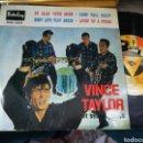 Discos de vinilo: VINCE TAYLOR EP SO GLAD YOUR MINE + 3 1961. Lote 160008606