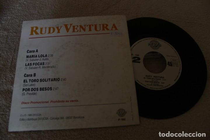 Discos de vinilo: RUDY VENTURA SIGA LA FIESTA EP 1990 PROMOCIONAL - Foto 2 - 160015290