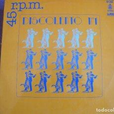 Discos de vinilo: MAXI - DISCOLENTO Nº 1 (COLLAGE, DRUPI, JANE BIRKIN, ETC..) (SPAIN, WEA 1977). Lote 160015434