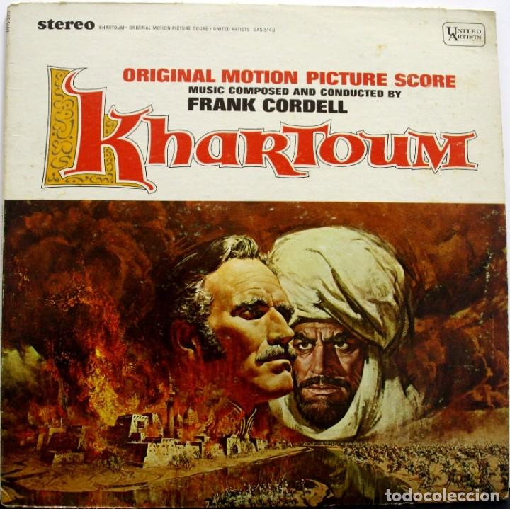KHARTOUM. FRANK CORDELL (Música - Discos - LP Vinilo - Bandas Sonoras y Música de Actores )