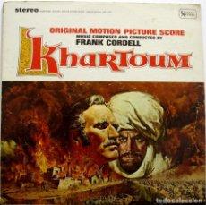 Discos de vinilo: KHARTOUM. FRANK CORDELL. Lote 160016586