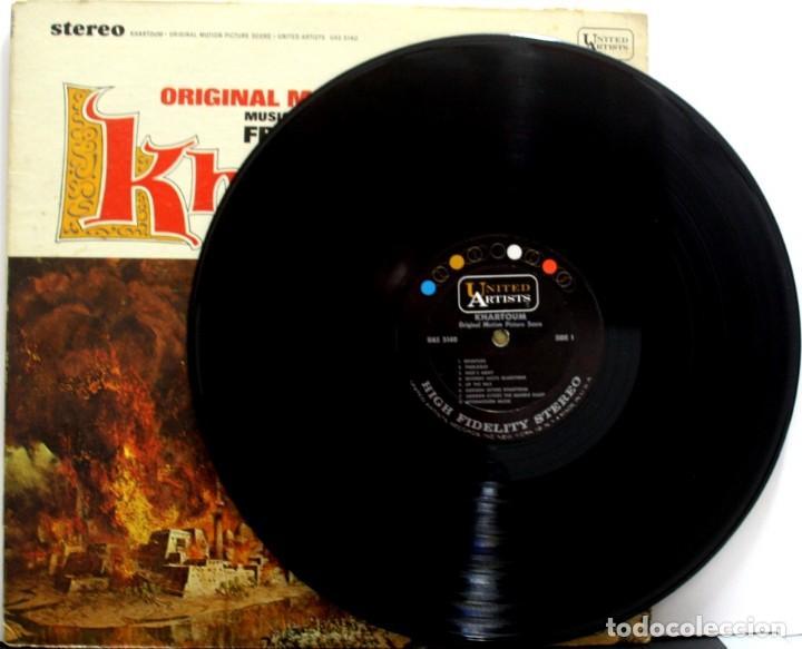 Discos de vinilo: KHARTOUM. FRANK CORDELL - Foto 3 - 160016586