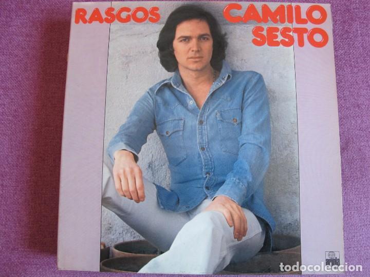 LP - CAMILO SESTO - RASGOS (SPAIN, ARIOLA 1977, PORTADA DOBLE) (Música - Discos - LP Vinilo - Solistas Españoles de los 70 a la actualidad)