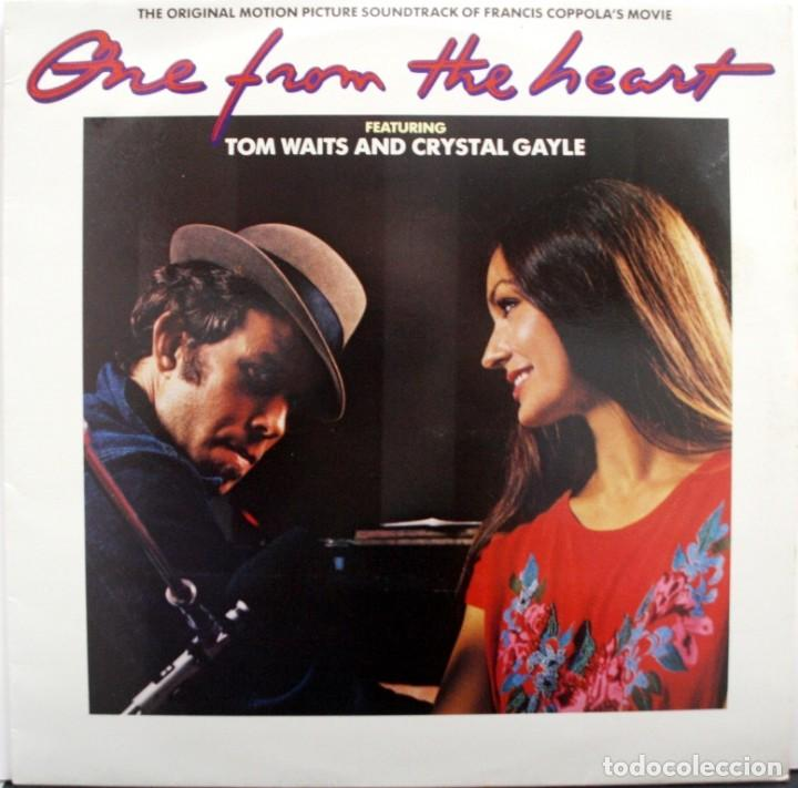 Discos de vinilo: CORAZONADA, ONE FROM THE HEART, TOM WAITS AND CRISTAL GAYLE - Foto 1 - 160016938