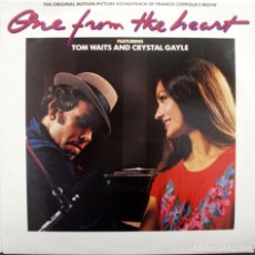 Discos de vinilo: CORAZONADA, ONE FROM THE HEART, TOM WAITS AND CRISTAL GAYLE. Lote 160016938