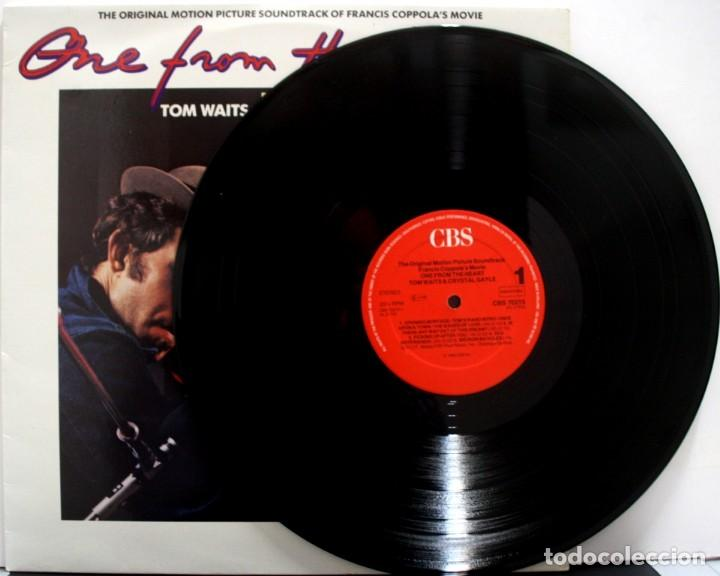 Discos de vinilo: CORAZONADA, ONE FROM THE HEART, TOM WAITS AND CRISTAL GAYLE - Foto 3 - 160016938