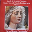 Discos de vinilo: LP - NUEVAS MARCHAS PROCESIONALES VOL. 2 - BANDA DE NTRA. SRA. DE LA VICTORIA LAS CIGARRERAS. Lote 160018682