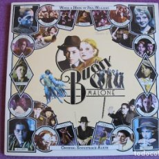 Discos de vinilo: LP - BUGSY MALONE - WORDS AND MUSIC BY PAUL WILLIAMS (GERMANY, POLYDOR 1976, PORTADA DOBLE). Lote 160021326