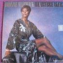 Discos de vinilo: LP - DIONNE WARWICK - HEARTBREAKER (HOLLAND, ARISTA RECORDS 1982). Lote 160021646