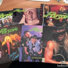 Vinyl-Schallplatten - POISON LOTE 6 SINGLE (EPI14) - 160038694