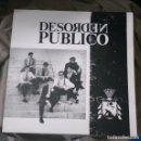 Discos de vinilo: DESORDEN PÚBLICO - DESORDEN PÚBLICO. Lote 160039814