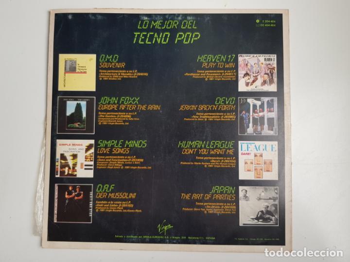 Discos de vinilo: Various - Lo Mejor Del Tecno-Pop (VINILO) - Foto 2 - 205238200