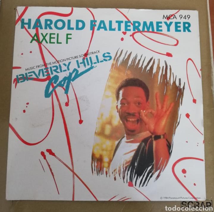 HAROLD FALTERMEYER - AXEL F. SUPER DETECTIVE EN HOLLYWOOD. BSO (Música - Discos - Singles Vinilo - Bandas Sonoras y Actores)