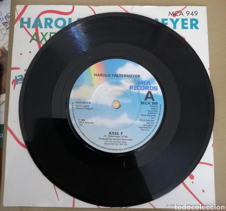 Discos de vinilo: Harold Faltermeyer - Axel F. Super detective en Hollywood. BSO - Foto 2 - 160068690