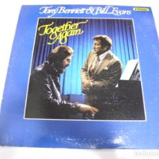 Discos de vinilo: LP. TONY BENNET & BILL EVANS. TOGETHER AGAIN. 1977. IMPROV RECORDS. Lote 172638242