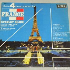 Discos de vinilo: FRANCE STANLEY BLACK THE LONDON FESTIVAL ORCHESTRA AND CHORUS LP 1967. Lote 160086162