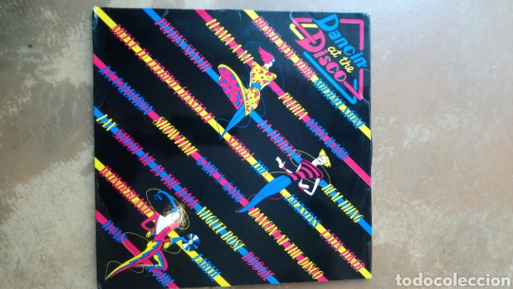 DANCIN AT THE DISCO. DOBLE LP VINILO. CBS 1979. BUEN ESTADO. (Música - Discos - LP Vinilo - Disco y Dance)