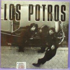 Discos de vinilo: LOS POTROS - BLACK LIGHT - LP GATEFOLD MUNSTER RECORDS 1990. Lote 160087278