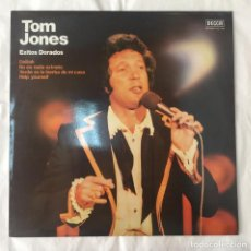 Discos de vinilo: TOM JONES EXITOS DORADOS - DELILAH, NO ES NADA EXTRAÑO - LP. Lote 160091286
