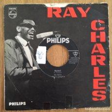 Discos de vinilo: RAY CHARLES MAING BELIEVE SINGLE ALEMAN. Lote 160091934