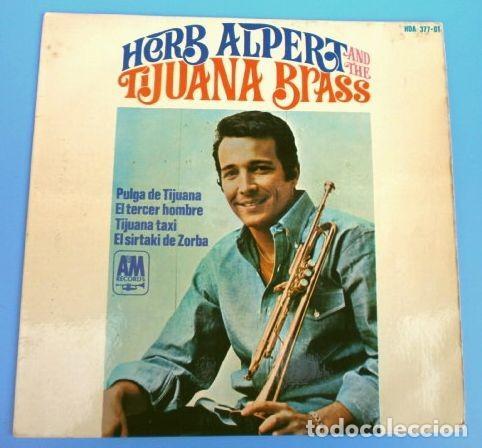 HERB ALPERT AND TIJUANA BRASS (EP 1966) PULGA DE TIJUANA - TERCER HOMBRE - ZORBA - TIJUANA TAXI (Música - Discos de Vinilo - EPs - Pop - Rock Internacional de los 50 y 60)