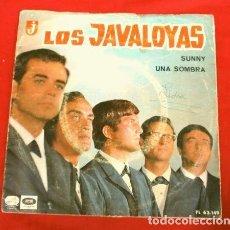Discos de vinilo: LOS JAVALOYAS (SINGLE 1966) SUNNY - UNA SOMBRA. Lote 160106150