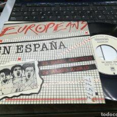 Discos de vinilo: EUROPEANS EN ESPAÑA SINGLE PROMOCIONAL THE ANIMAL SONG EDPAÑA 1984. Lote 160107462