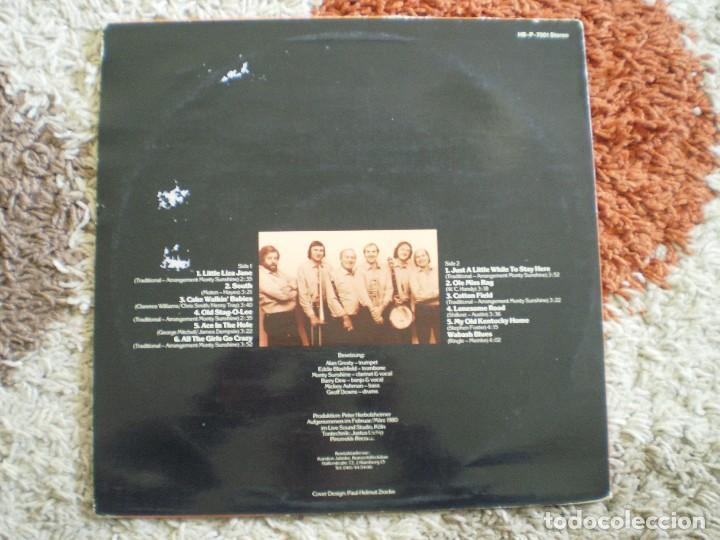 Discos de vinilo: LP. MONTY SUNSHINE´S JAZZBAND. LITTLE LIZA JANE. - Foto 2 - 160157102