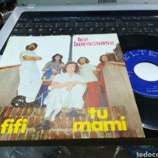 Discos de vinilo: LOS HURACANES SINGLE FIFI 1972. Lote 160157344